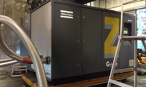 AtlasCopco screw compressor